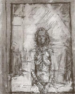 painting – alberto giacometti