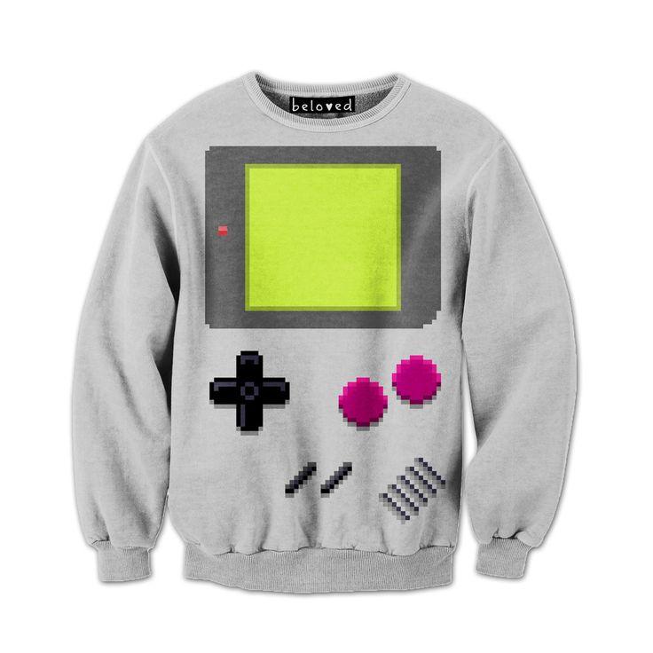 Gameboy HandHeld Sweatshirt