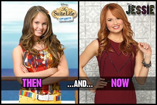 ~Debby Ryan, then and now