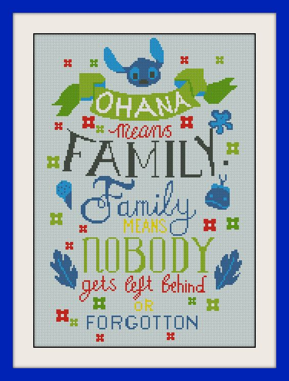 Lilo and Stitch  Hawaiian Hula Counted Cross Stitch Pattern in PDF for Instant Download No shipping charges   Download and Print your cross