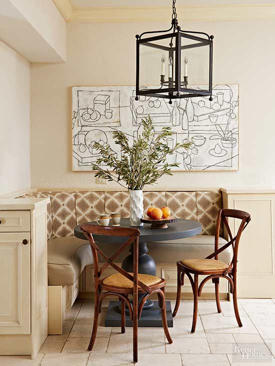 Breakfast Room Banquette Ideas