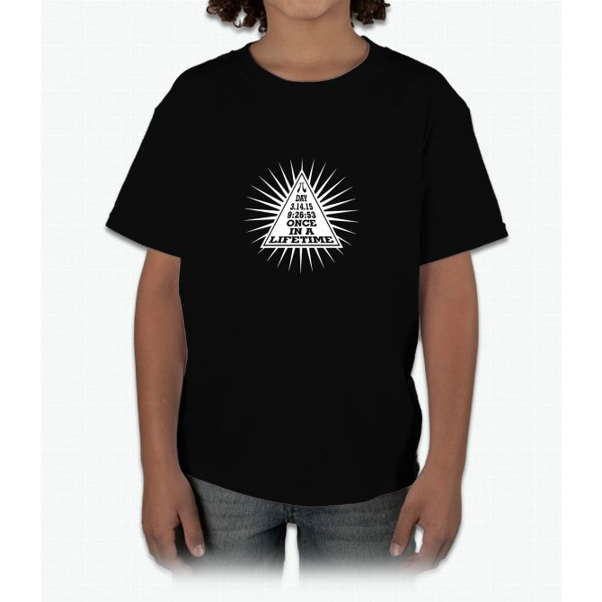 Pi Day Pyramid 3.14.15 Young T-Shirt