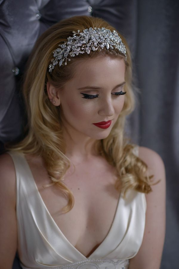 Jo Barnes Vintage ~ Bridal Headdresses Inspired by a Glamorous Bygone Era