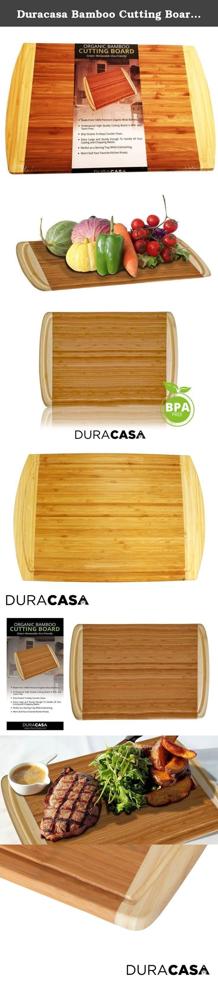 """Duracasa Bamboo Cutting Board 