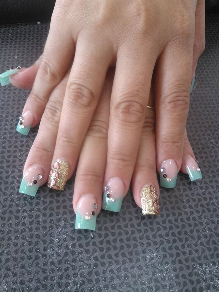 54 best Uñas images on Pinterest | Beauty, Acrylic nail art and ...