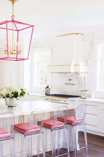 48 marble kitchens that are beyond gorgeous pink kitchen designs contemporary interior on kitchen decor pink id=25538