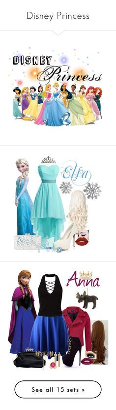 """Disney Princess"" by evii-chase ❤ liked on Polyvore featuring art, BCBGMAXAZRIA, Bling Jewelry, John Hardy, Lime Crime, Topshop, Miss Selfridge, Chloé, Malaika and Erickson Beamon"