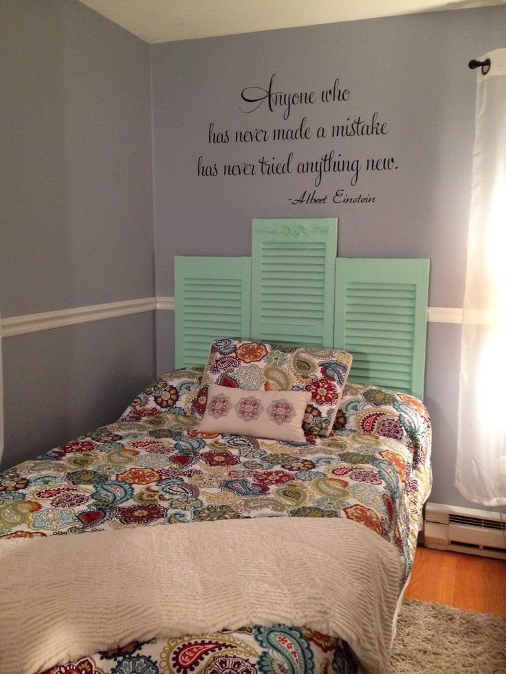Headboard Easy Inexpensive Way To Add Some Charm To Any Bedroom