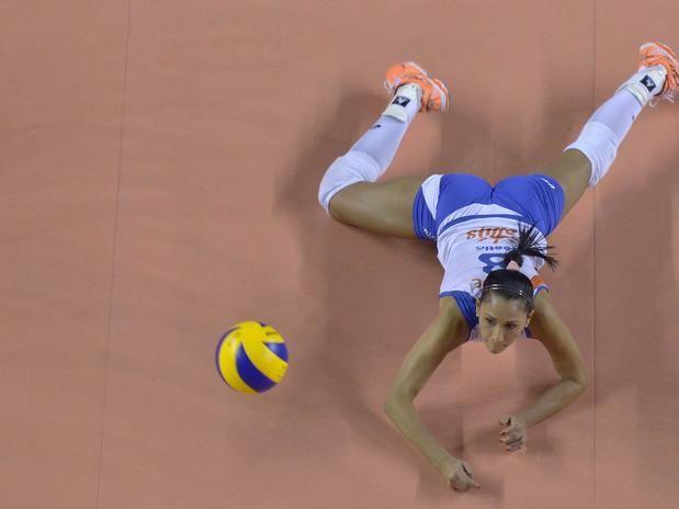 Veja as melhores fotos da Superliga feminina de vôlei - Terra Brasil