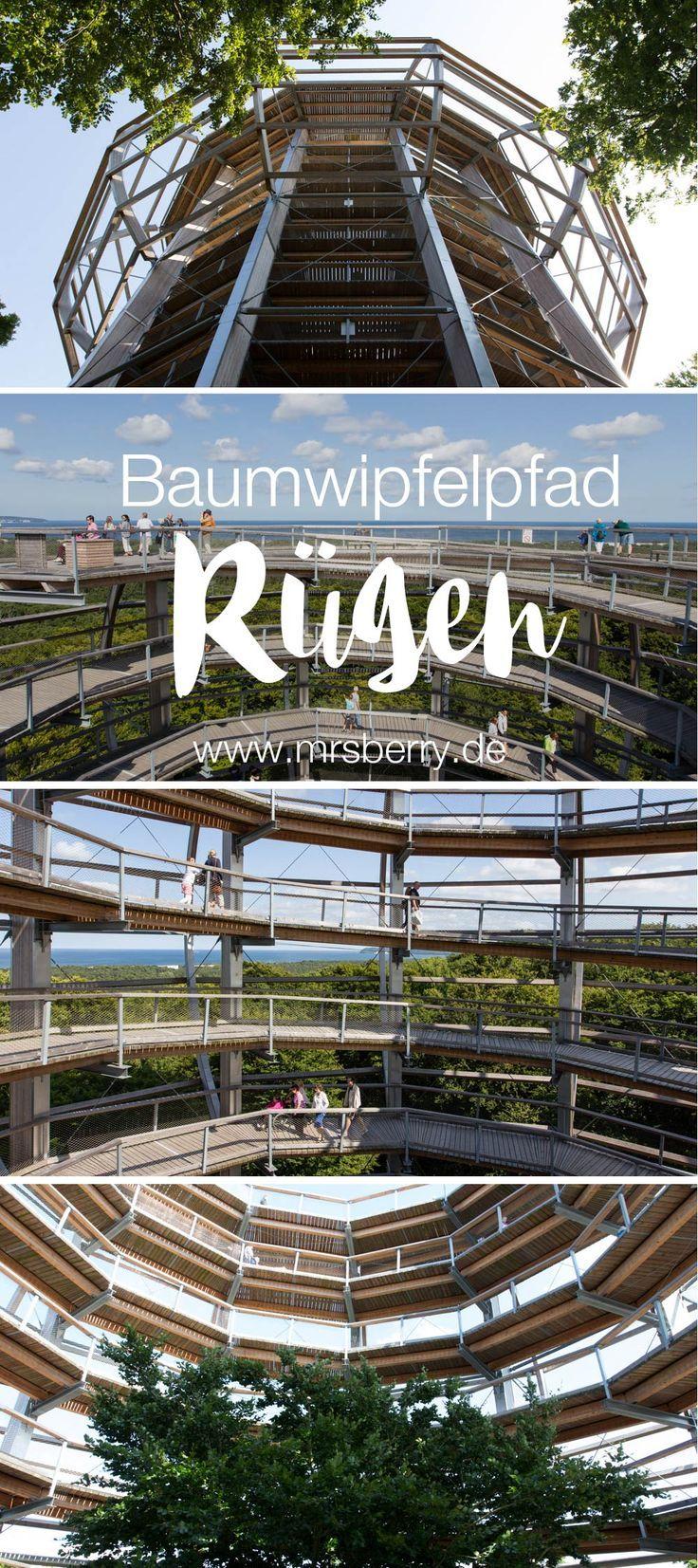 Rügen erleben mit MrsBerry.de | Baumwipfelpfad im Naturerbe Zentrum Rügen | Reisetipps für einen Urlaub auf Rügen mit Kindern https://mrsberry.de