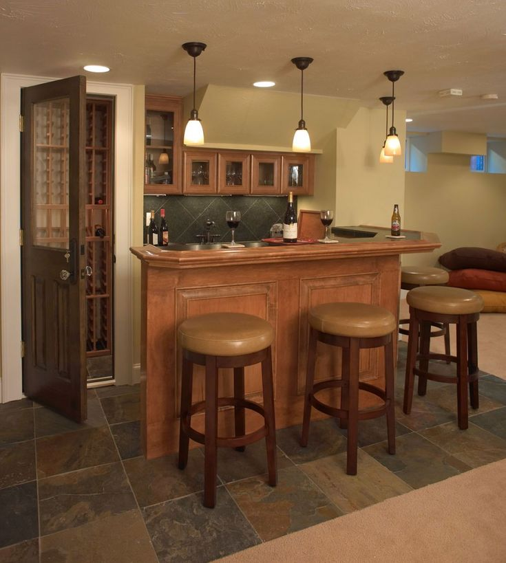 Best 10+ Small Basement Bars Ideas On Pinterest