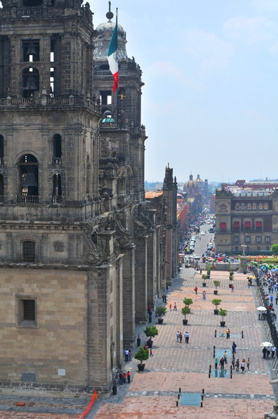 Historic Center of the city of Mexico