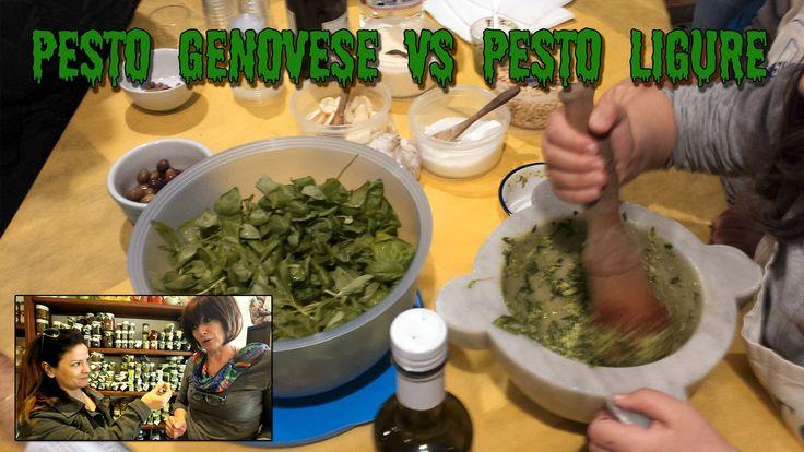 Pesto Genovese VS Pesto Ligure