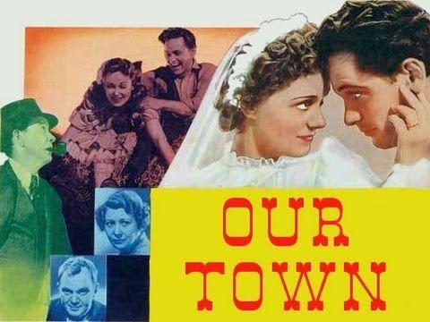 OUR TOWN (1940) William Holden - Martha Scott