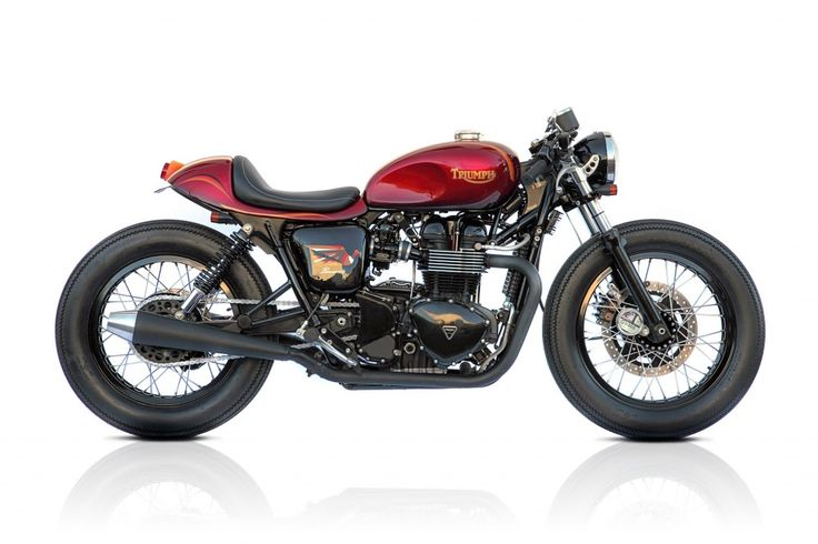 Triumph Dealers, Small Back Street Garages and Big Name Custom Shops make up the Pro-Builds