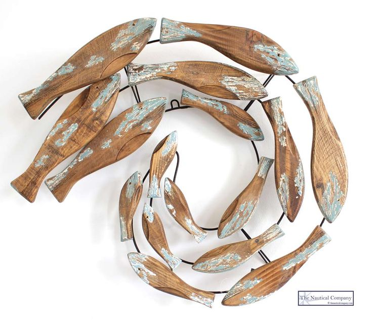 Fish Wall Decor Wood : Best ideas about wooden fish on driftwood