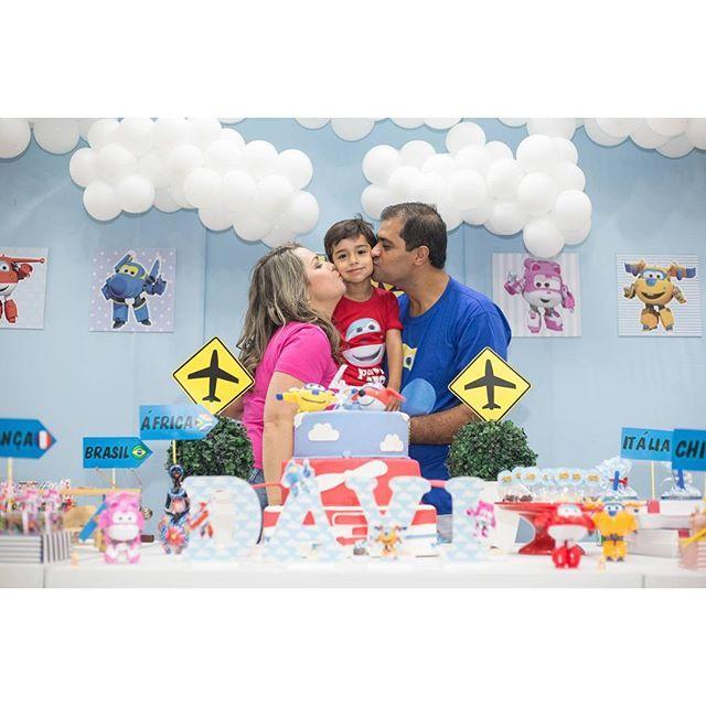 """Festa infantil com tema do """"Super Wings"""" conhecendo e fazendo suas entregas nos principais países. ..."""