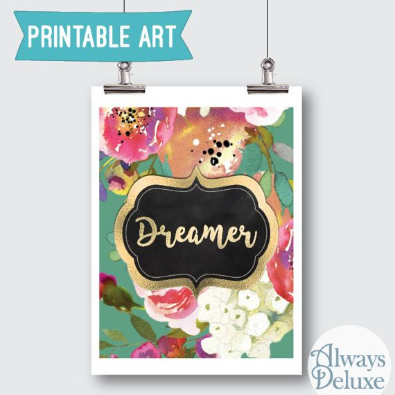 Downloadable Art Dreamer  8x10inches by AlwaysDeluxe on Etsy