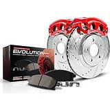 Cheap Power Stop KC1943A 1-Click Performance Brake Kit with Calipers Front Only…