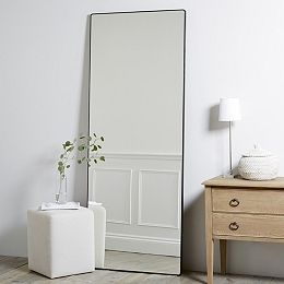 Buy Chiltern Thin Metal Full Length Mirror - from The White Company