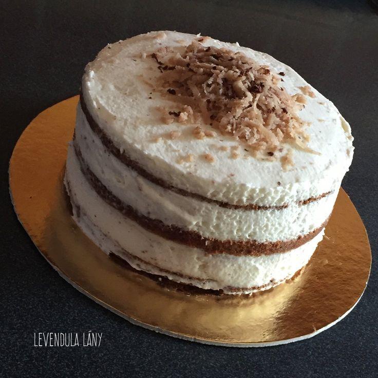 Fedák-torta (gesztenyés)