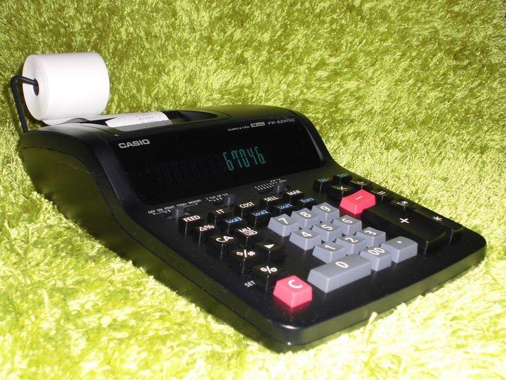 Druckender Tischrechner Casio FR-620TEC