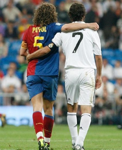 Puyol & Raul - The Legends of Real Madrid & Barcelona FC