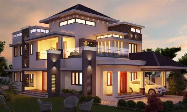 Best Home Designers In Kochi Monnaie Architects Interiors House Architecture Design Unique House Design Best Interior Design Blogs