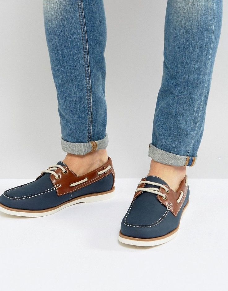 Buy Navy New look Deck shoes for men at best price. Compare Shoes prices  from online stores like Asos - Wossel Global