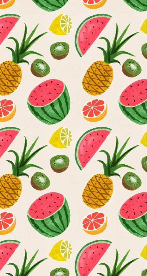 fruits & wallpaper
