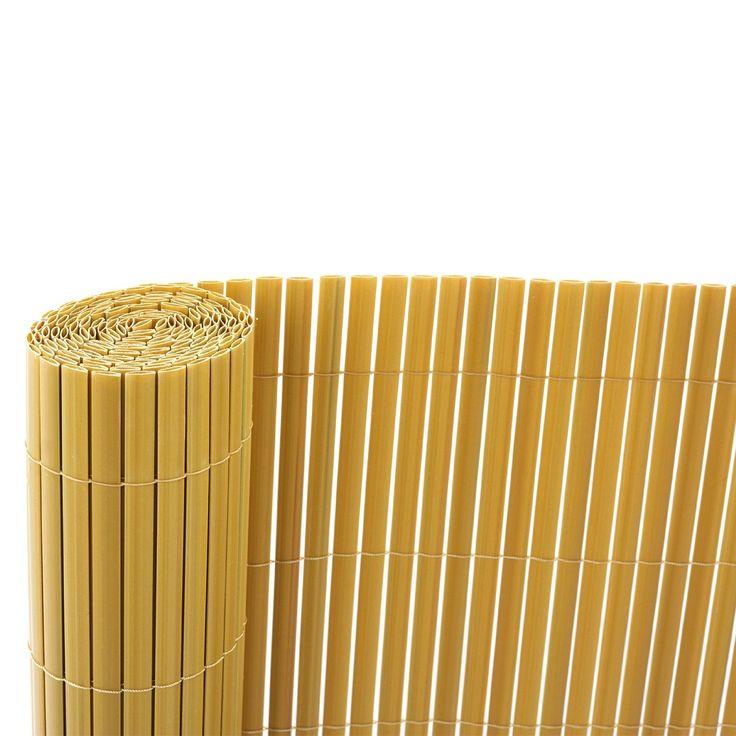 Recinzione da giardino e balcone in PVC da 120x300 cm pittura bambù: Amazon.it: Fai da te