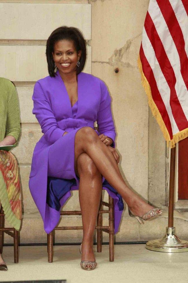 Vogue's most inspirational women of 2013 - Michelle Obama. #GotDammit CHELLE,,, Them LEGZzz IZ Beautiful #1stBossLady #lalalandnewzzzflash