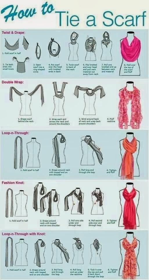 best 20 scarf ideas ideas on ways to tie