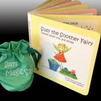 Susie The Soother Fairy  By: Laura Page Hamilton http://thebabyspot.ca/susie-the-soother-fairy-book-review/