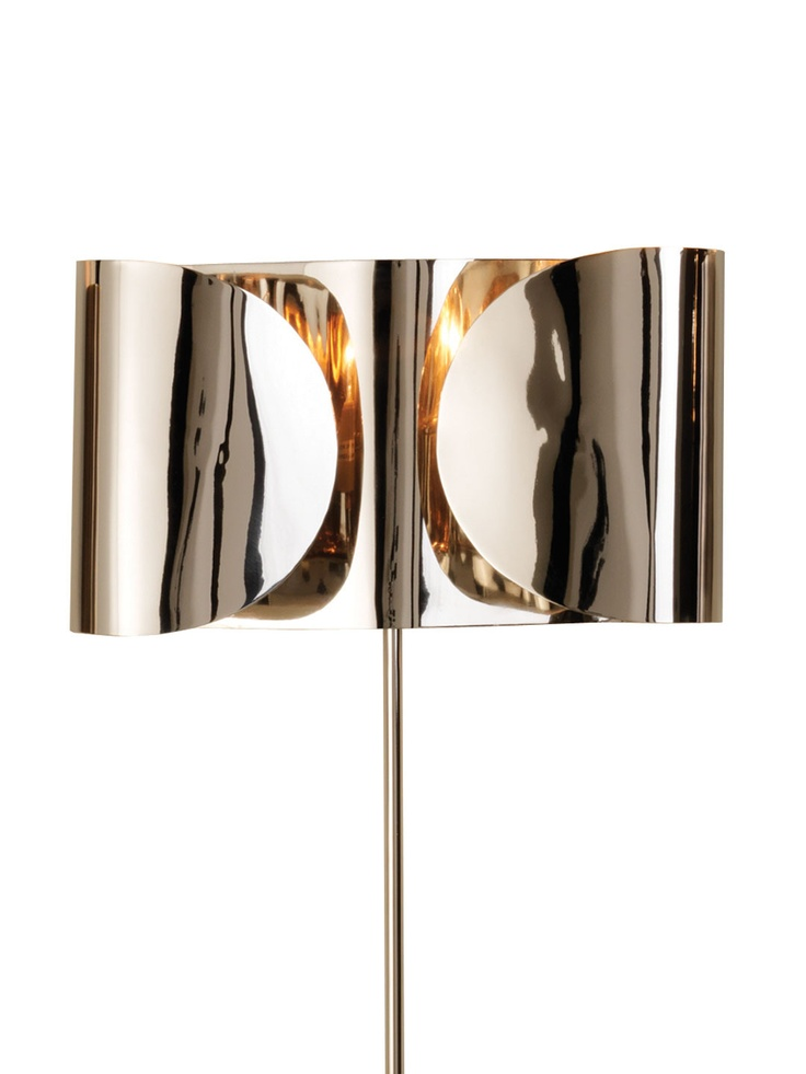 Folded Sconce. ( so... it's a lamp right?)