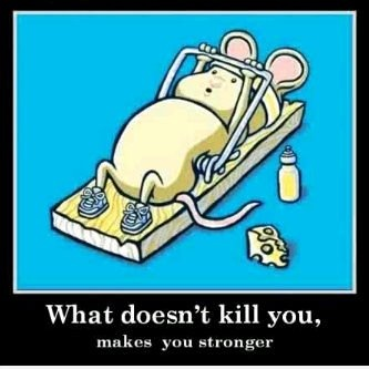 What doesn't kill you...