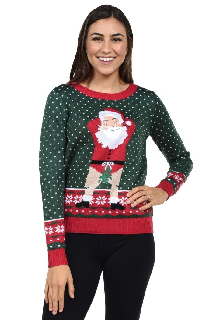 Tipsy christmas sweaters
