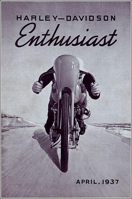 : Vintage Posters, Vintage Motorcycles, Harley Davidson Enthusiast, Motorcycles Posters, Harley Davidson Vintage Image, Harleydavidson Enthusiast, Harley Davidson Motorcycles, Enthusiast Motorbikes, Enthusiast Magazines