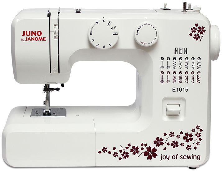 Maszyna do szycia JANOME JUNO E1015 + GRATISY! Sklep Szycie w domu