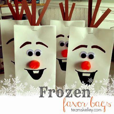 Bolsas de caramelos Frozen para cumpleaños…