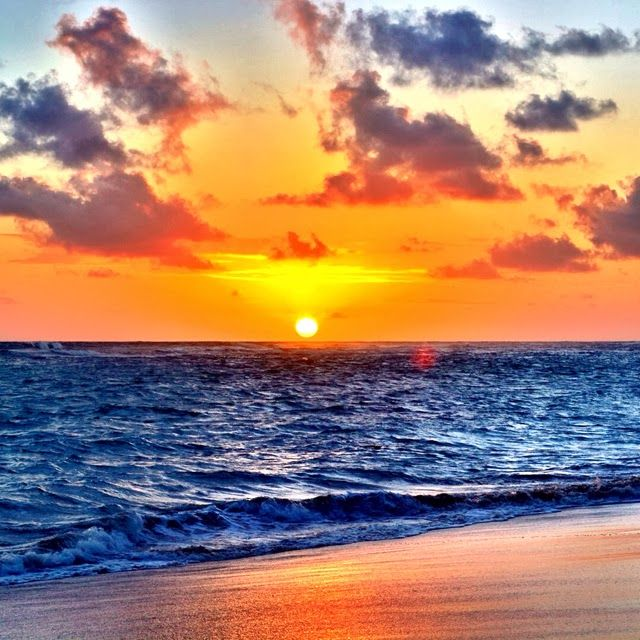 sunrise in Punta Cana #travel #beach #vacation