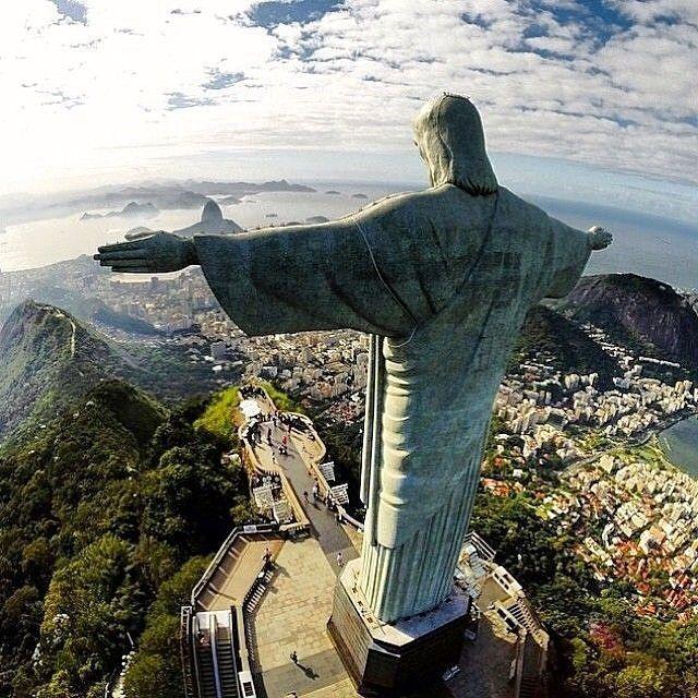 Epic Rio #awesome_naturepix  Via @travelitism
