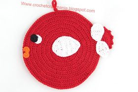 CrochetCraftMania: Presine all'uncinetto ...random