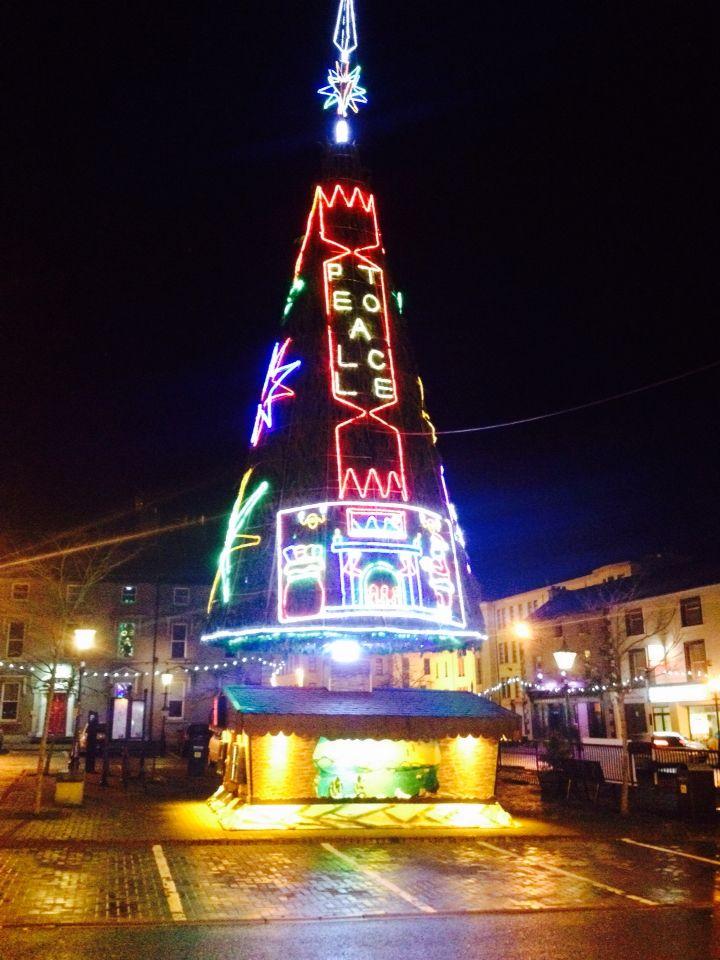 Mountmellicks Christmas tree