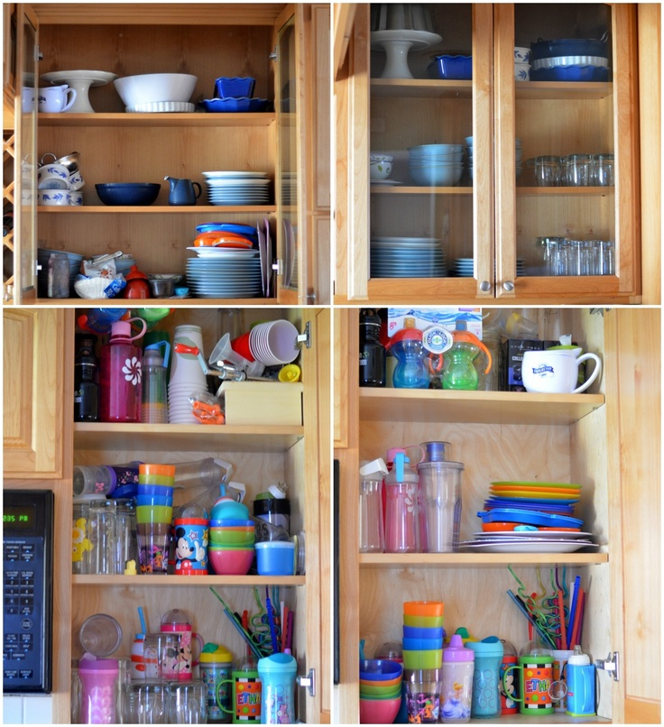 31 Days to Organize Your Home: Organizing the Kitchen