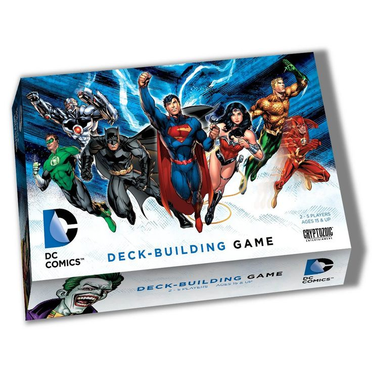 Cryptozoic Entertainment DC Comics Deck Building Game