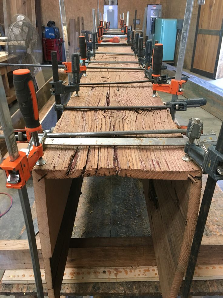 how to make wood look hand hewn
