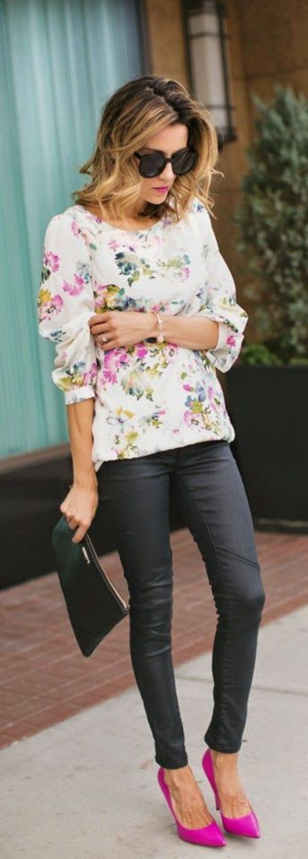 <3PINK<3 is my HAPPY color !!!! 46 Cute Spring Outfits to copy ASAP