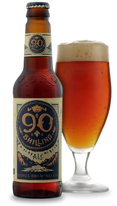 Odell Brewing Co. 90 Shilling Ale - A beautiful deep copper color, pleasant on the nose, and a nice malt-driven flavor.