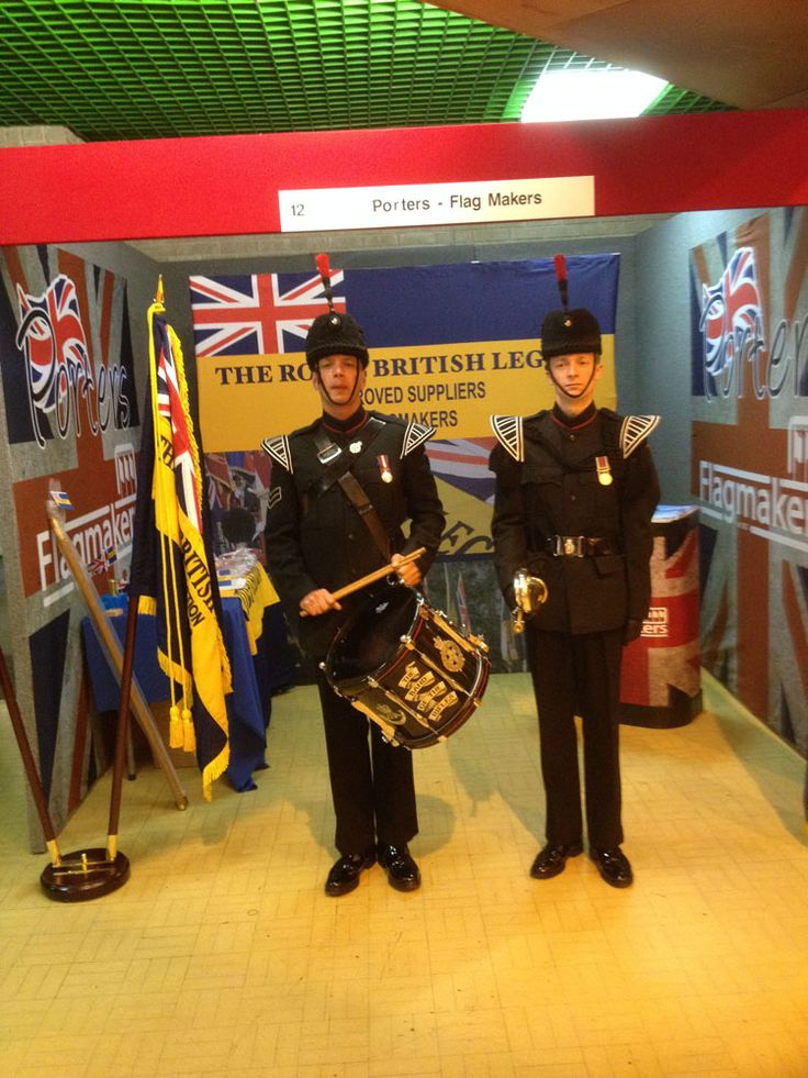 Standards on Display for the Royal British Legion Annual Conference - Flagmakers